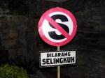 dilarang selingkuh