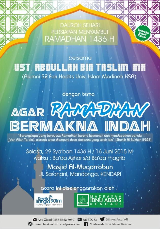 Dauroh Ramadhan