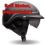 beli motor dapat helm